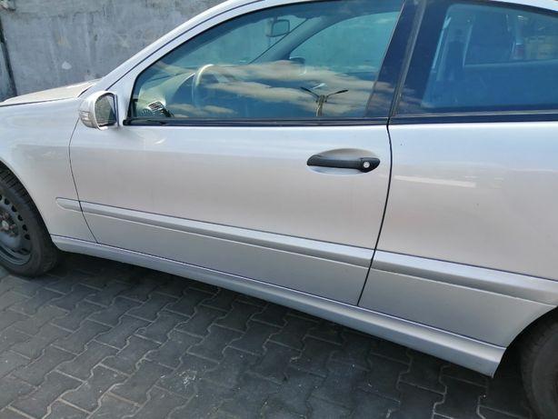 Drzwi lewe Mercedes CL203 W203 COUPE lakier 775
