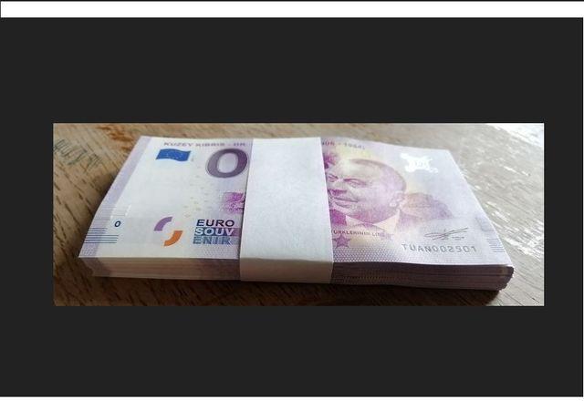 0 Euro -Kuzey kibris Dr.Fazil kucuk 1906r-1984 Paczka bankowa 100szt