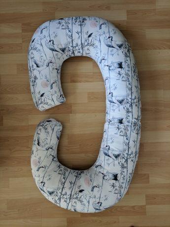 Poduszka ciążowa C, Bololo, stan idealny, wzór w czaple