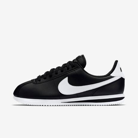Nike Cortez. Rozmiar 44. kolor Czarne z białym. NAJTANIEJ!