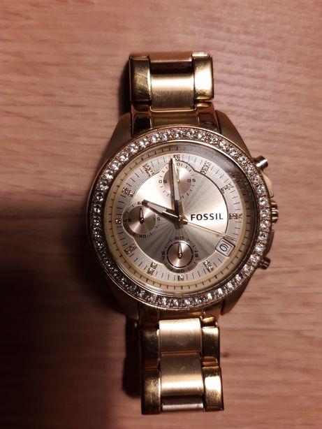 Zegarek damki Fossil ES2683 zloty piękny!