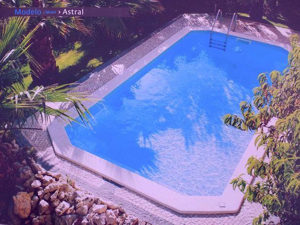 Astral Luxe piscina em fibra  | fibreglass swimming pool