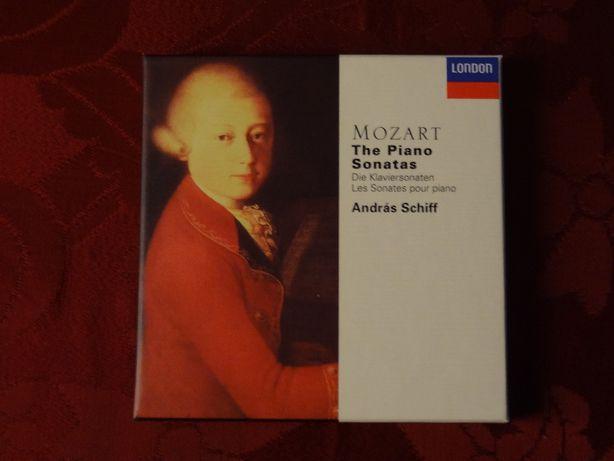 MOZART, W. A. – András Schiff – The Piano Sonatas   Decca – 5 CD's