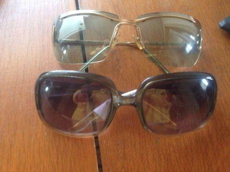 Солнцезащитные именные очки Gianfranco Ferré и Valentino, ОРИГИНАЛ!