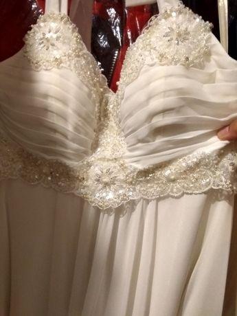 Свадебное платье греческого стиля