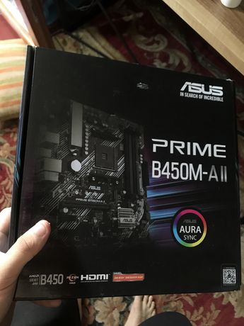 Материнская плата ASUS PRIME B450M-A ll