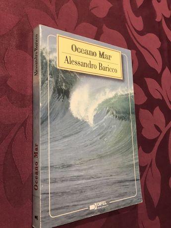 """Livro """"Oceano Mar"""" de Alessandro Baricco (esgotado nas livrarias)"""