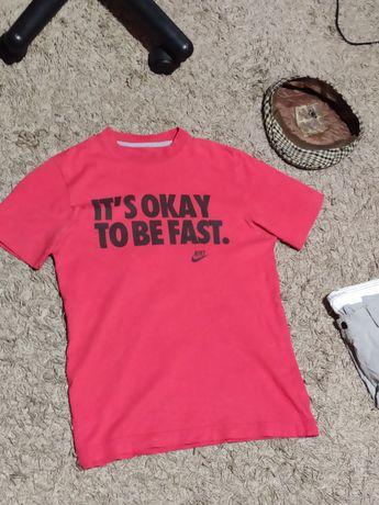 футболка nike fast run