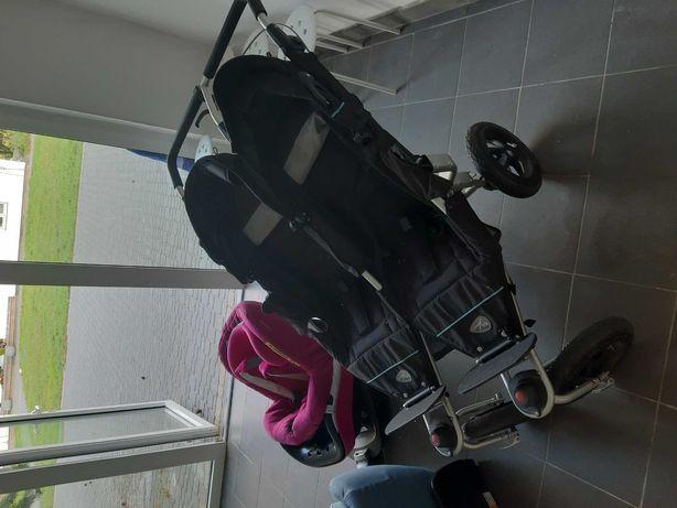 Wózek bliźniaczy tfk twin adventure