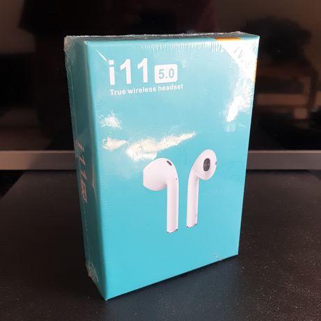 Sluchawki BEZPRZEWODOWE i11 TWS do Iphone HUAWEI