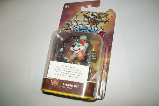 Figurka Skylanders SuperChargers Smash Hit PS4 Wii