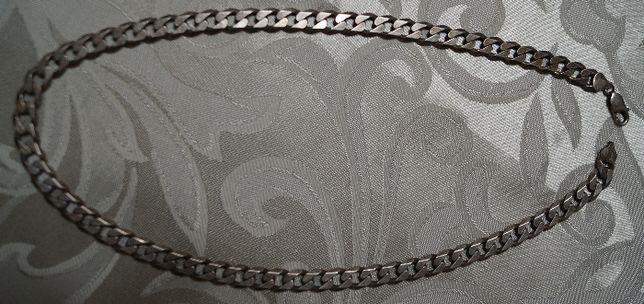 Łańcuszek srebrny pancerka