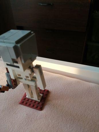 Duży figurka lego minecraft