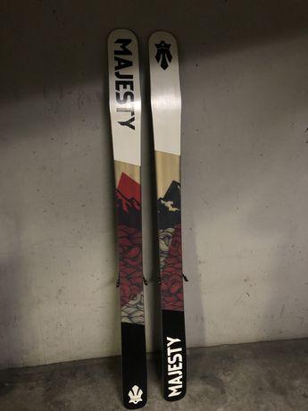 Narty skitour Majesty Superior 186 Marker Tourfreetour skiturowe