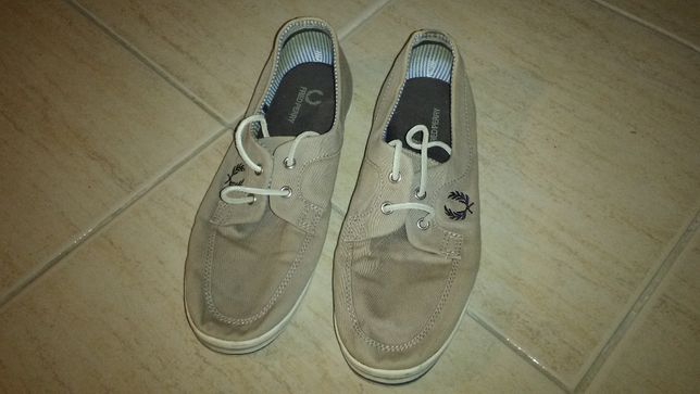 Sapatos Fred Perry DRURY TWILL B7006