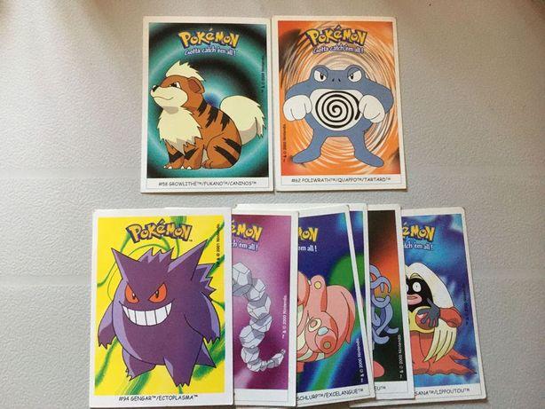 Cromos Boomer Pokémon 2000 e 2001