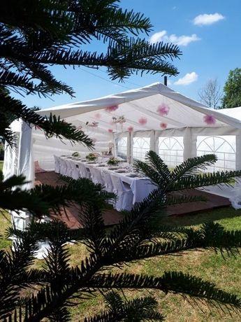 Wynajem,wypożyczalnia namiotów,komunia,ślub,chrzciny,dekoracja,namioty