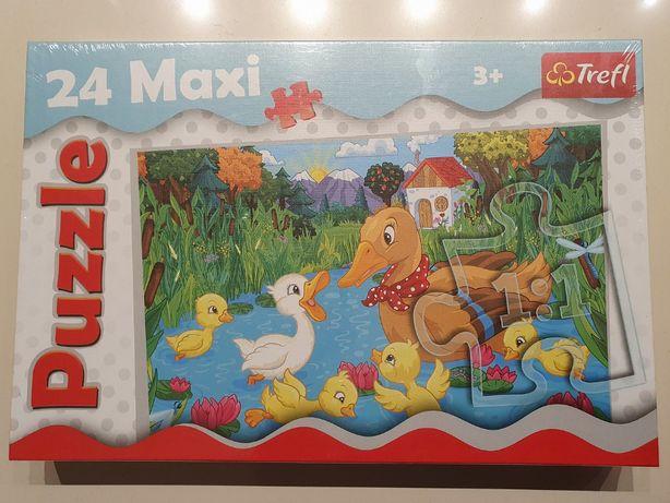 NOWE puzzle Trefl MAXI 24 Brzydkie kaczątko