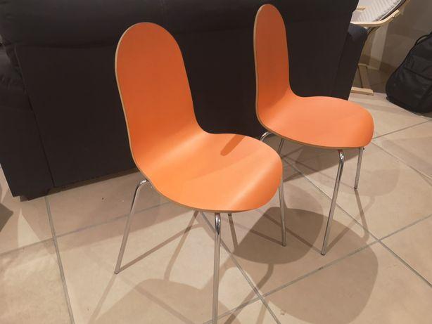 2 cadeiras de design para quarto ou sala.
