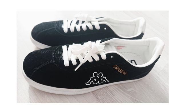 KAPPA Zamszowe czarne sneakersy trampki Nowe 39 25 cm