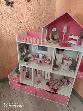 Стильный кукольный домик Барби, LOL