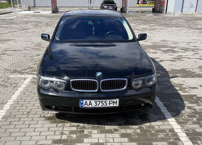 BMW 745 e65 4.4 объем