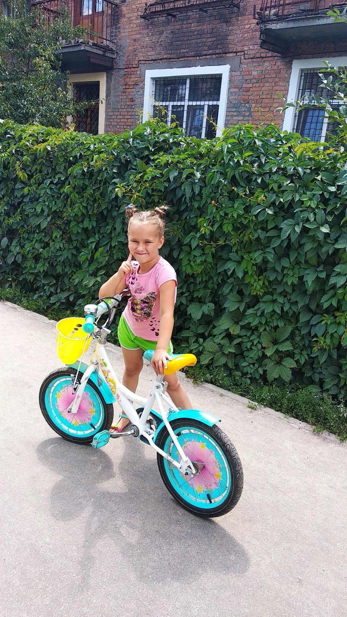 Детский велосипед 16 колесо