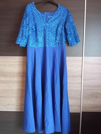 Sukienka chabrowa r.50