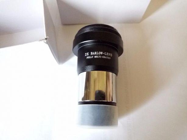 """Окуляр линза Барлоу 2Х для 1.25 """"31.7 мм телескопа, камери"""