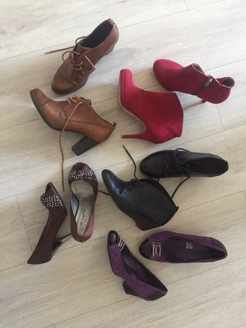 Туфли, ботинки tamaris кожа