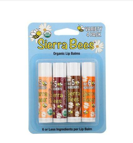 Бальзами для губ Sierra bees (бальзамы для губ)