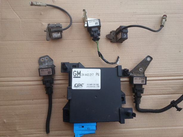 czujnik IDS sensor IDS+ akcelerometr opel vectra c signum przód tył