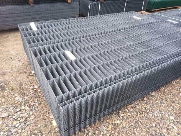 Panel ogrodzeniowy podmurówka siatka ogrodzenie 123/250/4