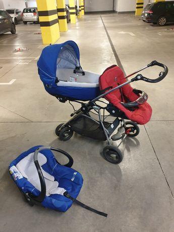 Wózek podwójny bliźniaczy