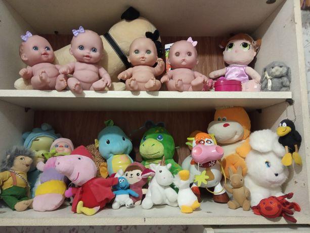 Игрушка кукла пупс мягкие игрушки