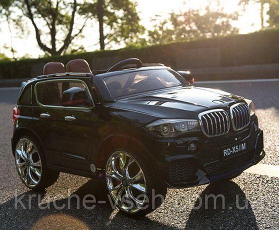 Детский электромобиль Джип M 2762, BMW X5, mp4-монитор, колеса EVA