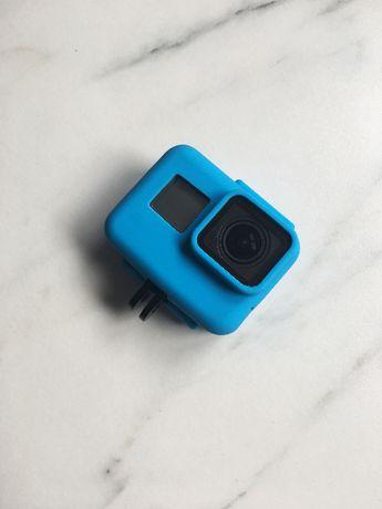 Silikonowa (czarna, turkusowa) obudowa do GoPro HERO 5 6 7