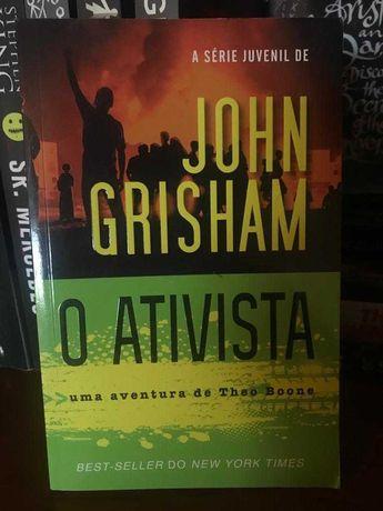 Livro O Ativista, John Grisham.