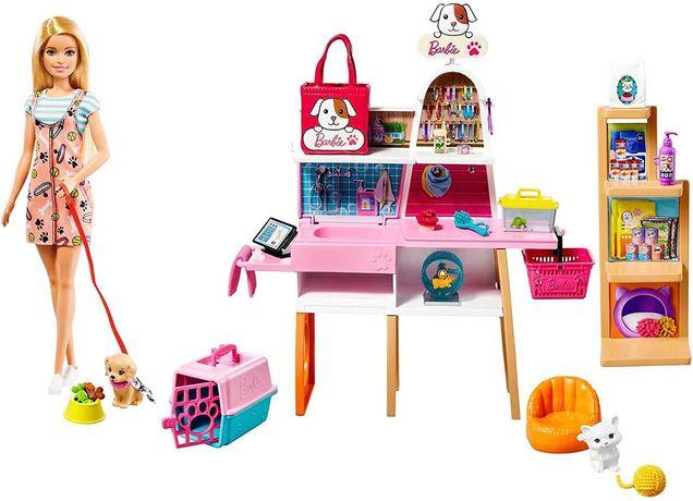 ОРИГИНАЛ! Кукла Барби Зоомагазин Barbie Doll and Pet Boutique Playset