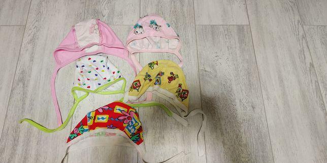 Шапочики на новорожденных