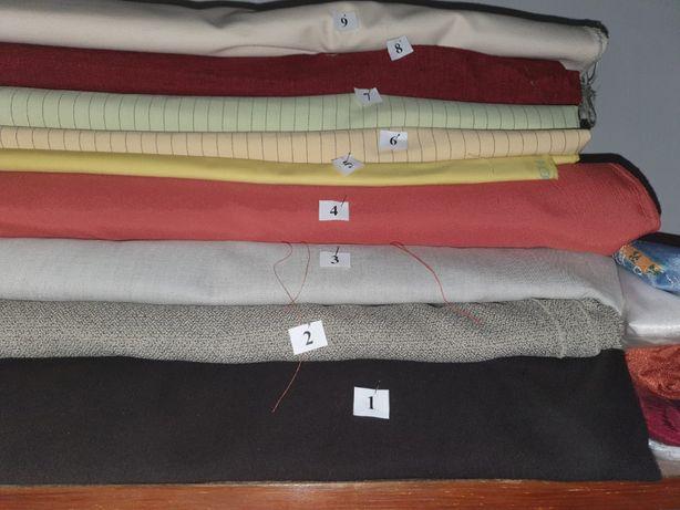 Tkaniny różne - wyprzedaż