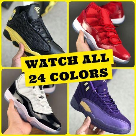 NIKE Air Jordan 11 12 13 MELO Баскетбольные Кроссовки 3 СЕЗОНА Люкс