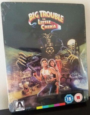 """""""Wielka draka w chińskiej dzielnicy"""" STEELBOOK Blu-Ray UK bez PL"""