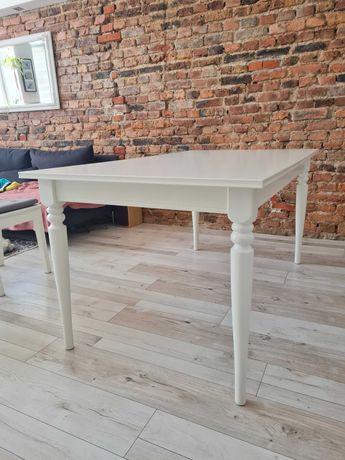 Stół rozkładany Ikea Ingatorp biały