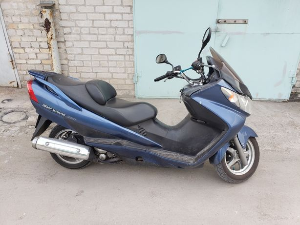 Продам макси скутер Suzuki skywave 250