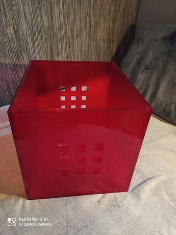 Regał kallax Ikea kostka wkłady plexi
