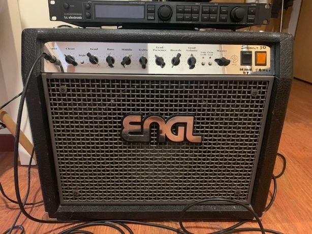 Vendo/troco Amplificador Engl Screamer 50 Combo E-330