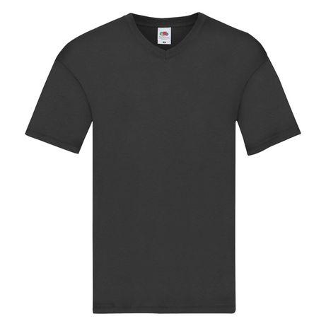 T-shirt męski w szpic FRUIT OF THE LOOM rozmiar 4XL