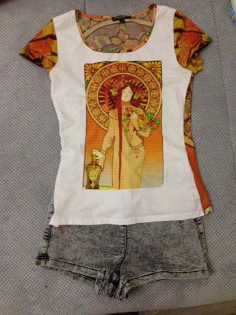 Жіноча футболка, шорти