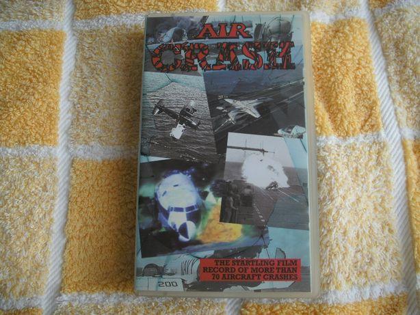 3 cassetes VHS de aviação em inglês